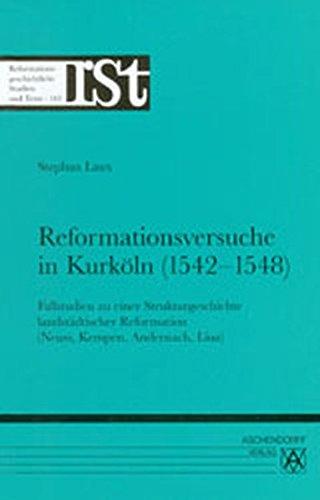 Reformationsversuche in Kurköln (1542-1548): Stephan Laux