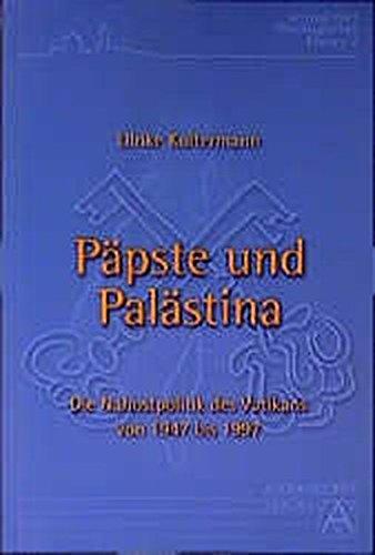Päpste und Palästina: Ulrike Koltermann