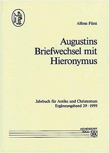 9783402081136: Augustins Briefwechsel mit Hieronymus (Jahrbuch für Antike und Christentum)