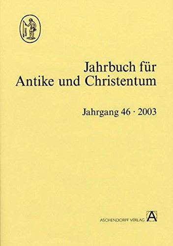 9783402081372: Jahrbuch für Antike und Christentum