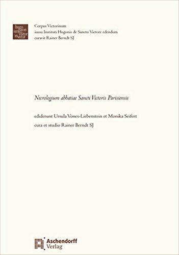 Necrologium abbatiae Sancti Victoris Parisiensis: Ursula Vones-Liebenstein