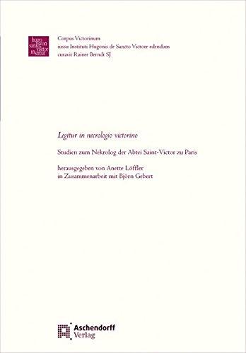 Legitur in necrologio victorino: Anette Löffler