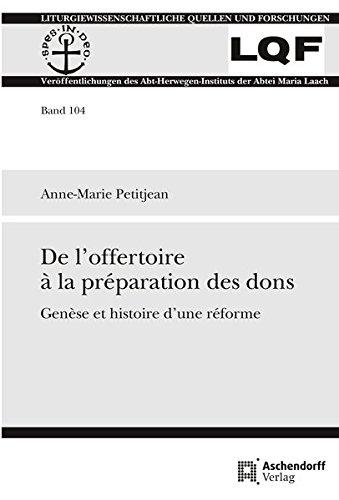 De l'offertoire à la préparation des dons: Anne-Marie Petitjean