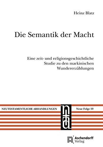 Die Semantik der Macht: Heinz Blatz
