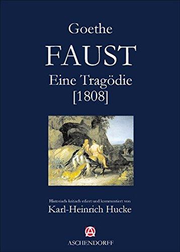 9783402127551: Faust: Eine Tragödie (1808)