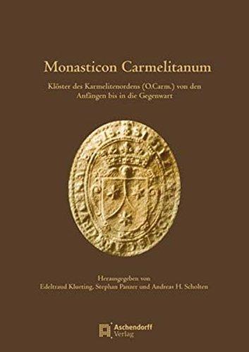 9783402129548: Monasticon Carmelitanum