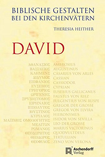 9783402130001: Biblische Gestalten bei den Kirchenvätern - David
