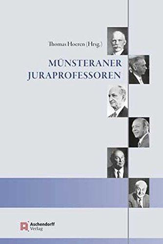 Münsteraner Juraprofessoren (Hardback)