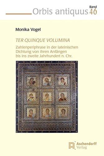 TER QUINQUE VOLUMINA: Monika Vogel