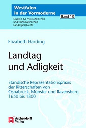 Landtag und Adeligkeit: Elizabeth Harding