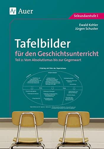 9783403018216: Tafelbilder für den Geschichtsunterricht 2: Vom Absolutismus bis zur Gegenwart (7. bis 10. Klasse)