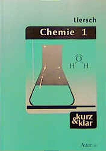 9783403025054: Chemie 1 - kurz & klar: Allgemeine und anorganische Chemie