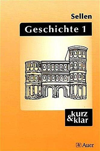 9783403025115: Geschichte, Bd.1, Altertum bis Absolutismus