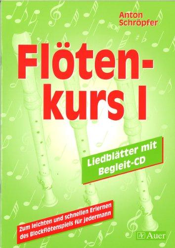 9783403026594: Flötenkurs I. CD und Spielheft.