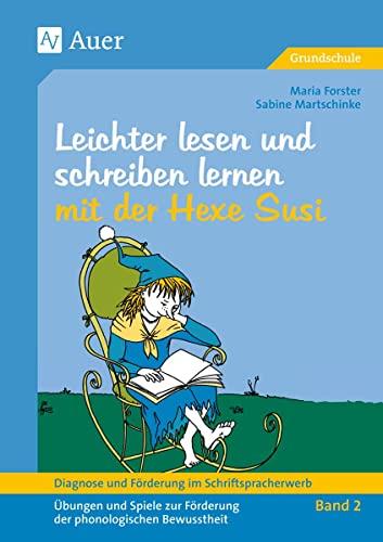 9783403034834: Diagnose und Förderung im Schriftspracherwerb, neue Rechtschreibung, 2 Bde., Bd.2, Leichter lesen und schreiben lernen mit der Hexe Susi