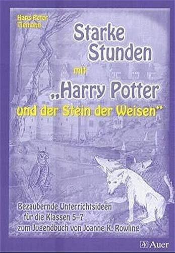 9783403036289: Starke Stunden mit Harry Potter und dem Stein der Weisen