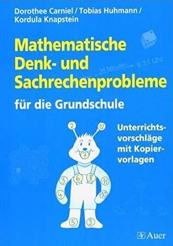 9783403037132: Problemzentrierter Mathematikunterricht: Arithmetik und Sachrechnen.