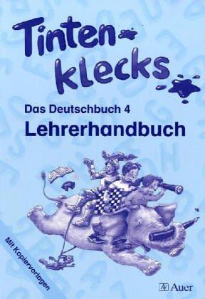 9783403037644: Tintenklecks - Das Deutschbuch. Bisherige Ausgaben / Lehrerhandbuch mit Kopiervorlagen 4. Klasse: Nordrhein-Westfalen