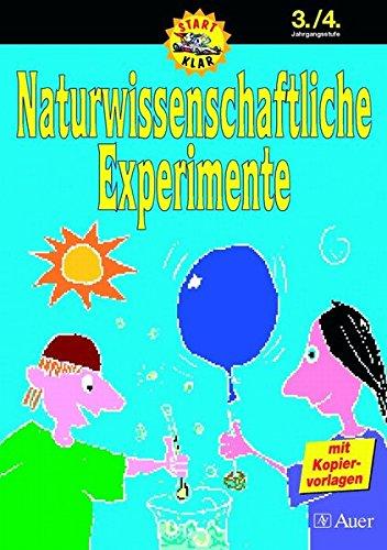 9783403038429: Naturwissenschaftliche Experimente, 3./4. Jahrgangsstufe
