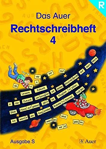 9783403039594: Das Auer Rechtschreibheft, 4. Jahrgangsstufe