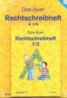 Das Auer Sprachbuch. 1/2 Schuljahr. Ausgabe N.: Ruth Dolenc; Christel