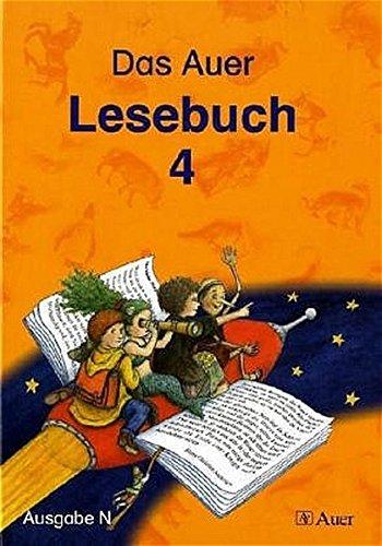 9783403039891: Das Auer Lesebuch. 4. Klasse. Sch�lerbuch. Ausgabe N. Allgemeine Ausgabe: (mit Auer Lesepass)