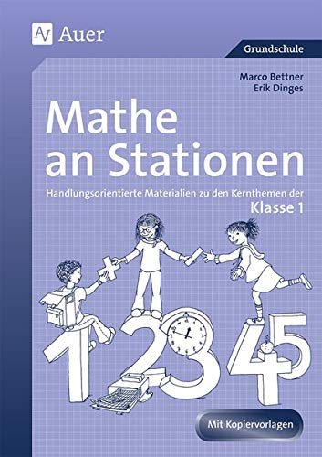 9783403048879: Mathe an Stationen. Klasse 1