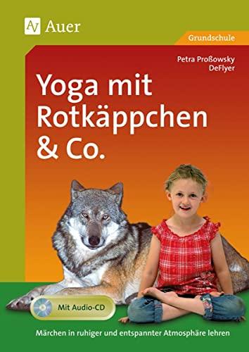 9783403049159: Yoga mit Rotkäppchen & Co., m. Audio-CD