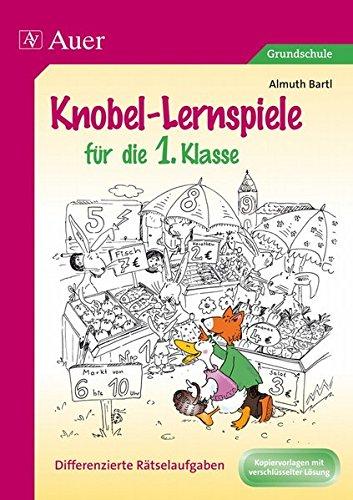 9783403061465: Knobel-Lernspiele für die 1. Klasse: Differenzierte Rätselaufgaben. Kopiervorlagen mit verschlüsselter Lösung