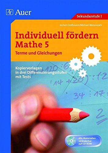 9783403062646: Individuell fördern Mathe 5, Terme und Gleichungen: 5. Klasse