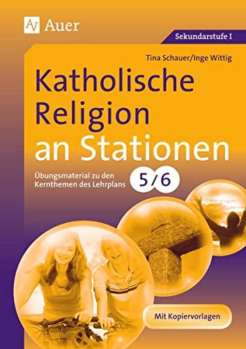 9783403065173: Katholische Religion an Stationen 5/6