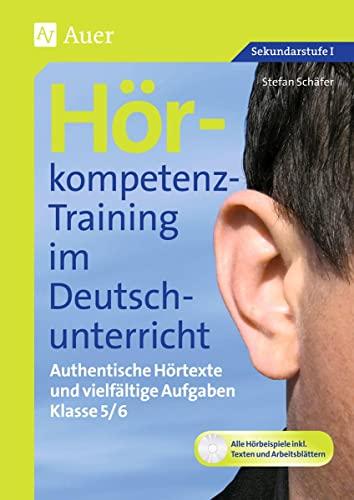 9783403066835: Hörkompetenz-Training im Deutschunterricht. Klasse 5/6