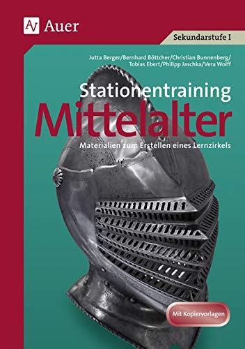 9783403067085: Stationentraining Mittelalter