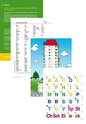 9783403067696: legen-lernen-lesen: Die Laut-Buchstabenkarten. Schülerset: 300 Wendekarten für das haptisch- entdeckende Lernen - Schüler-Set (1. bis 4. Klasse)