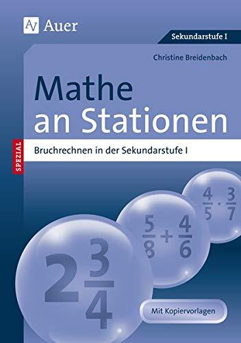 9783403067764: Mathe an Stationen, Bruchrechnen