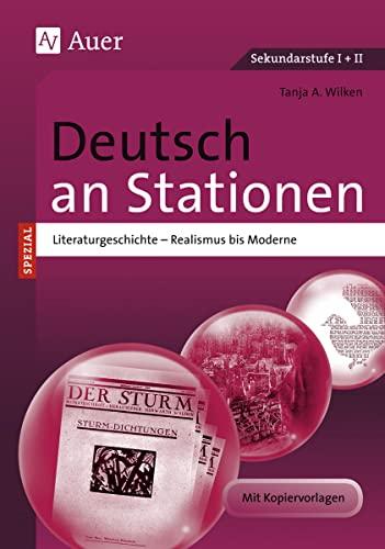 9783403069669: Deutsch an Stationen spezial Literaturgeschichte 2