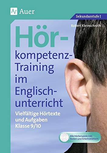 9783403070696: Hörkompetenz-Training im Englischunterricht Klasse 9/10, m. CD-ROM