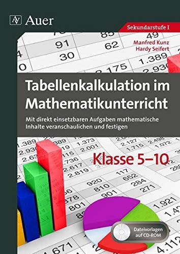 9783403071372: Tabellenkalkulation im Mathematikunterricht, m. CD-ROM