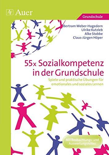 9783403072102: 55x Sozialkompetenz in der Grundschule