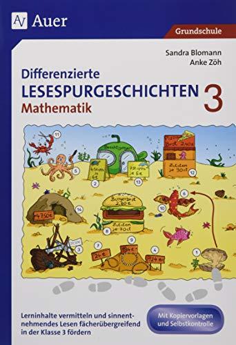 9783403080732: Differenzierte Lesespurgeschichten Mathematik 3: Lerninhalte vermitteln und sinnentnehmendes Lesen fächerübergreifend in der 3. Klasse fördern