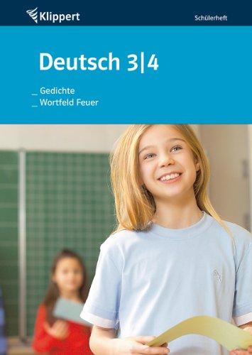 9783403090137: Gedichte / Wortfeld Feuer. Schülerheft (3. und 4. Klasse)