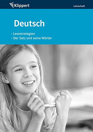 9783403090342: Lesestrategien / Der Satz und seine W�rter. Lehrerheft (3. und 4. Klasse)