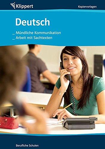 9783403091424: Mündliche Kommunikation / Arbeit mit Sachtexten