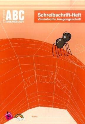 9783403111078: ABC Lernlandschaft. Schreibschrift-Heft VA. Arbeitsheft