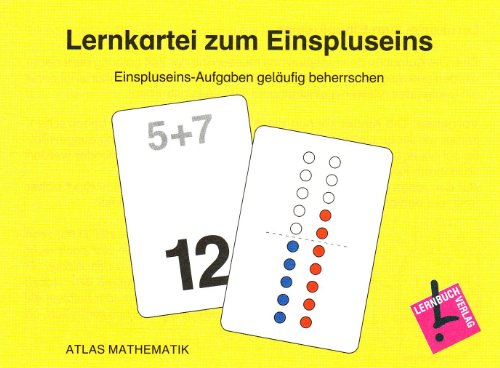 9783403111818: Atlas Mathematik. 1. Schuljahr. Lernkartei zum Einspluseins