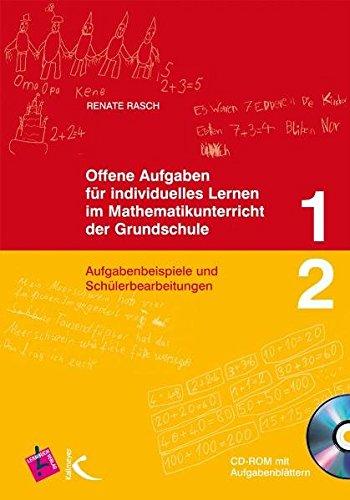 9783403112716: Offene Aufgaben für individuelles Lernen im Mathematikunterricht der Grundschule 1 und 2: Aufgabenbeispiele und Schülerbearbeitungen, CD-ROM mit Aufgabenblättern