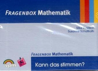 9783403116202: Fragenbox Mathematik. Kartei inkl. Lehrerkommentar + CD