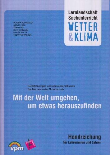 9783403117032: Lernlandschaft Sachunterricht. Wetter & Klima. Lehrerkommentar und Poster