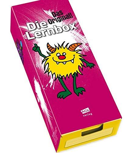 9783403153702: Die Lernbox (DIN A8) - Design: Monster: Lernbox zum Selbstbefüllen, fertig montiert