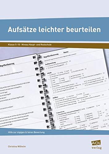 9783403199014: Aufsätze leichter beurteilen: Hilfe zur zügigen und fairen Bewertung (5. bis 10. Klasse)